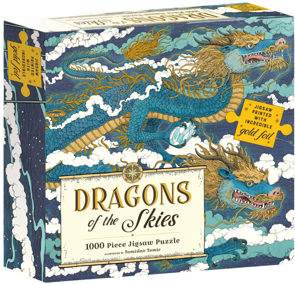 Abrams & Chronicle Puzzle - Dragons of the Skies