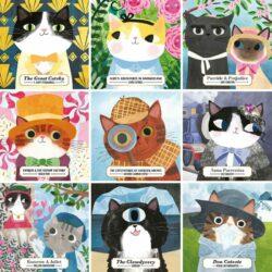 Bookish Cats 500