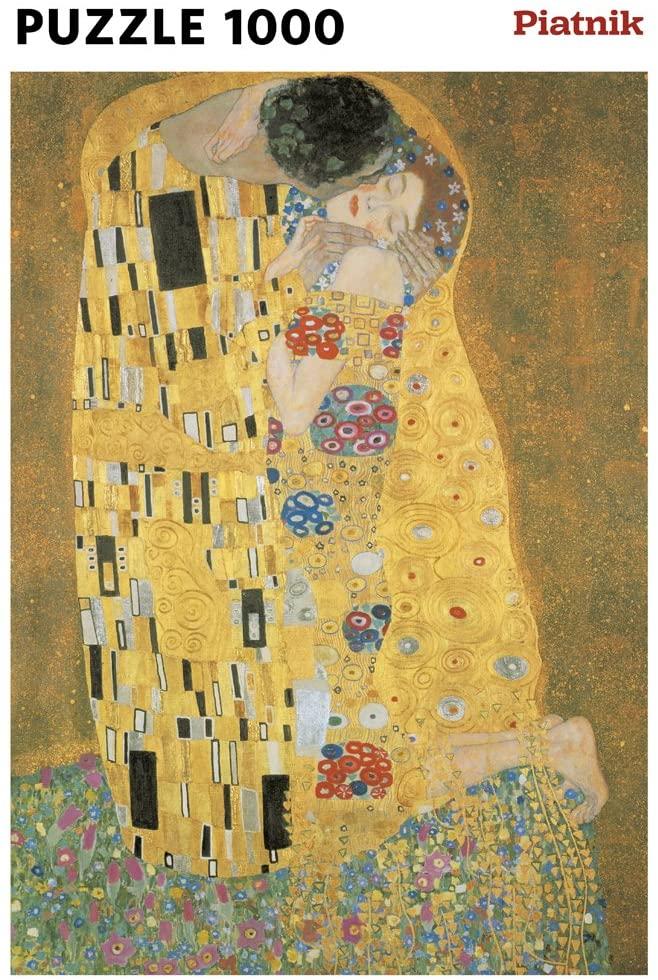 Piatnik Puzzle - Klimt - The Kiss_metallic