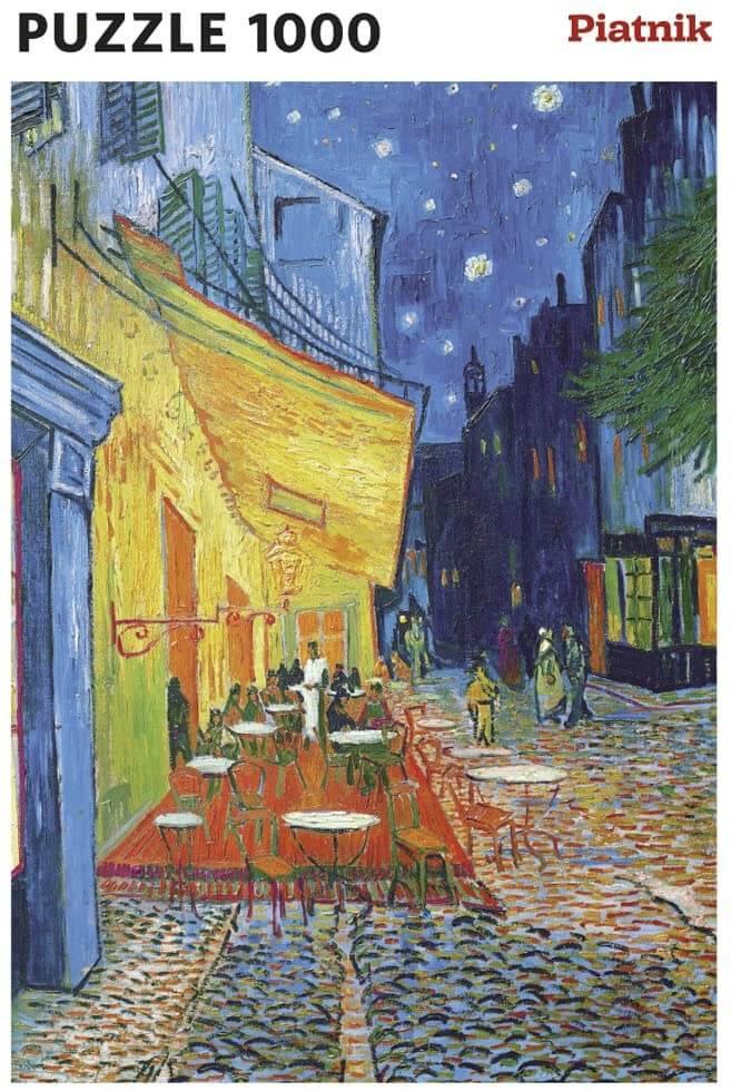 Piatnik - Van Gogh - Cafe Terrace at Night
