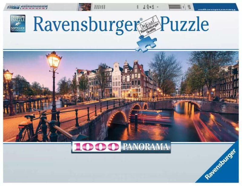 Ravensburger Puzzle - Noite em Amsterdão